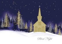 Royal Nightfall Christmas Cards